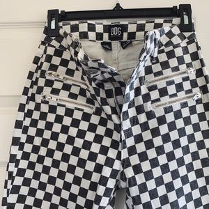 Urban Outfitters • BDG • Checkered Skinnies